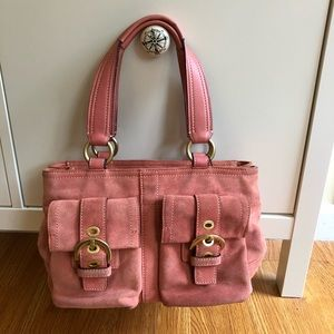 Coach Microsuede Purse